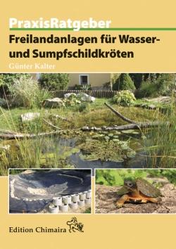 """Buch """"Freilandanlagen für Wasser- und Sumpfschildkröten"""""""